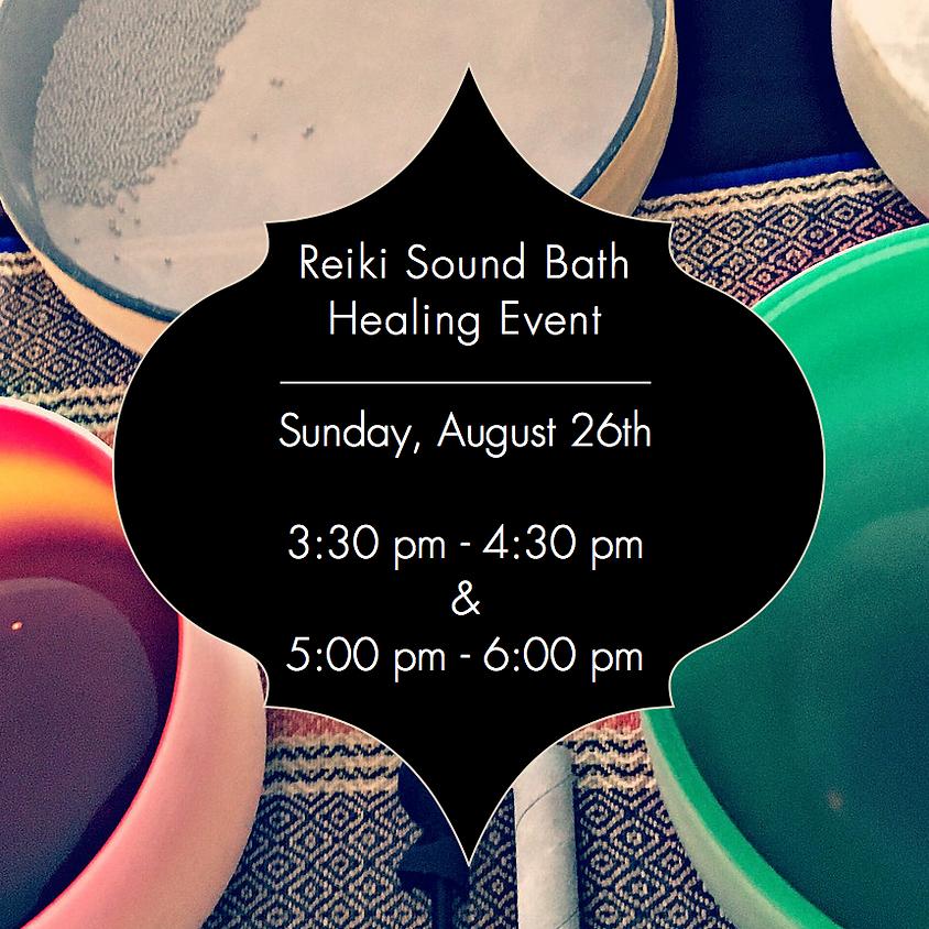 Reiki Sound Bath Healing Event