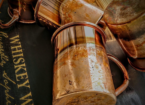 Copper Plated CampFired Steel Camp Mug