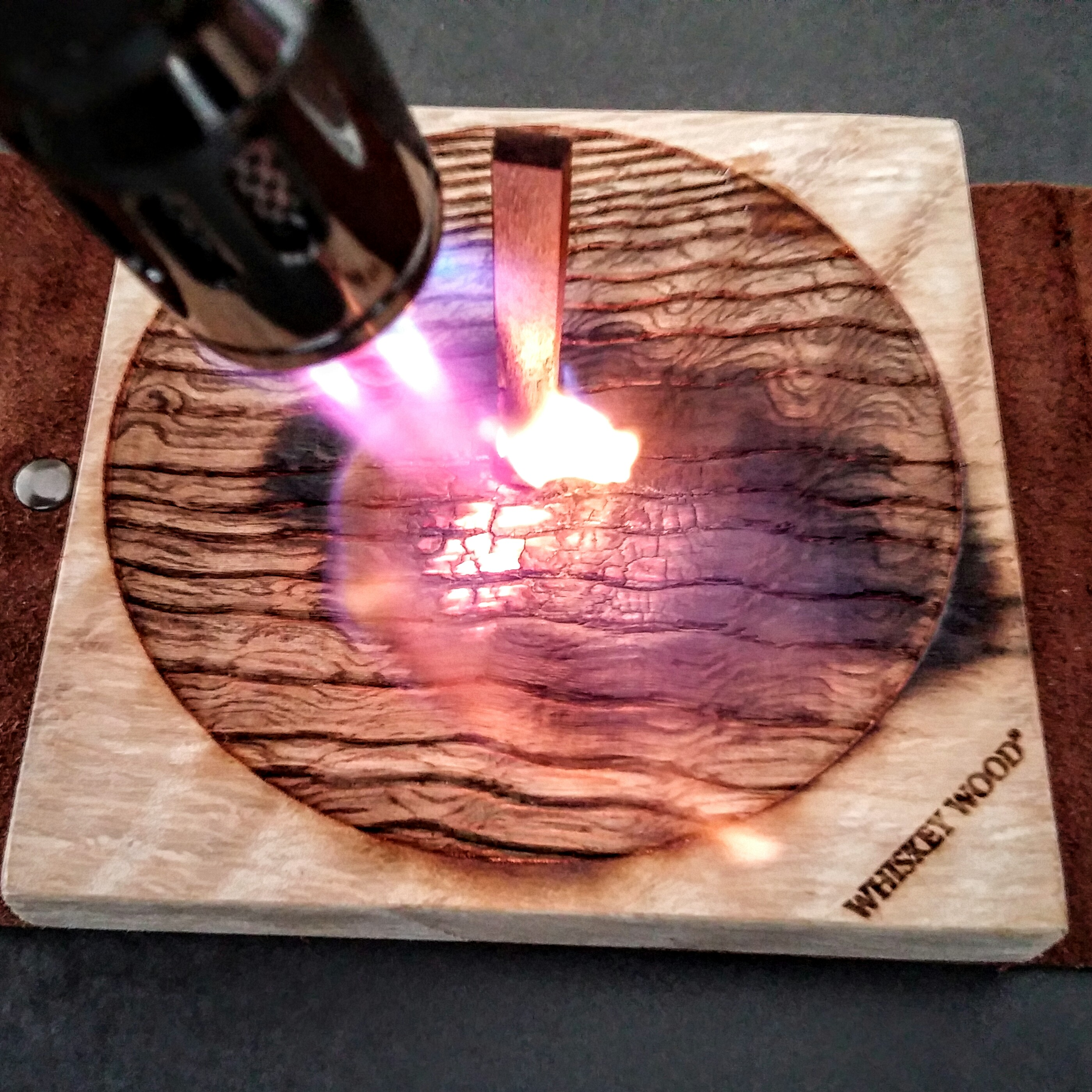 Wood on Fire Whiskey Wood