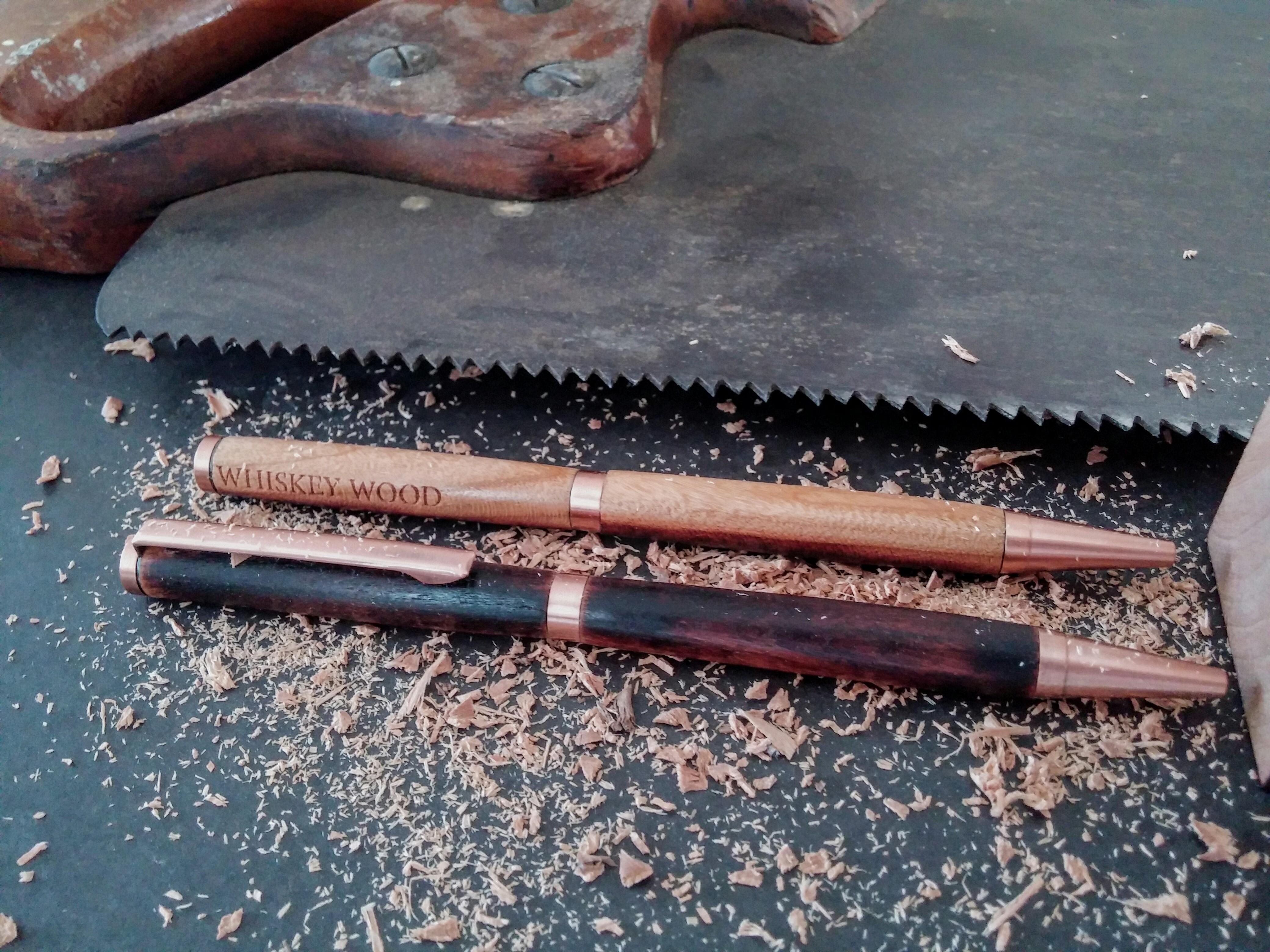 Whiskey Wood Charred Cherry Pen
