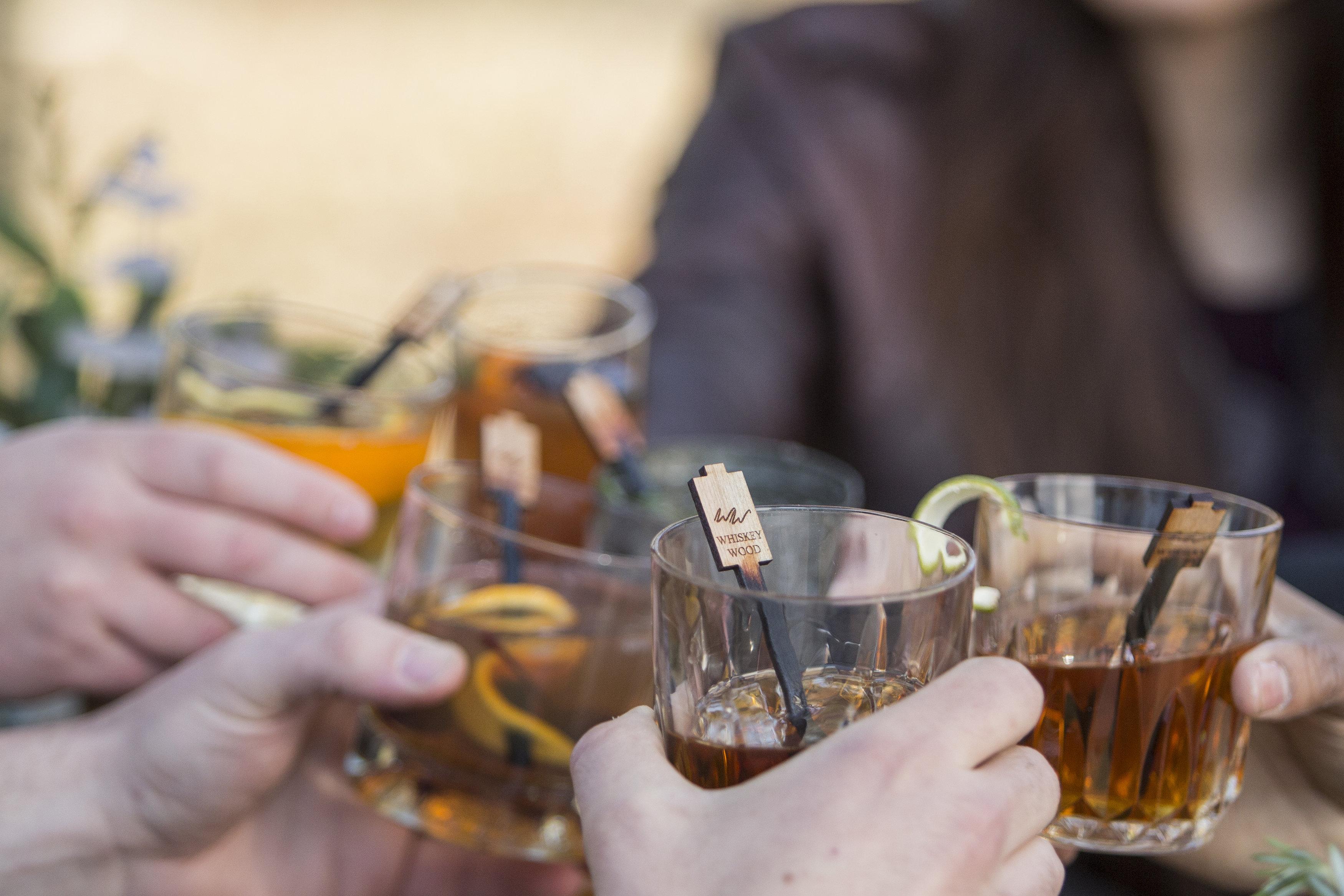 Whiskey Wood Cheers
