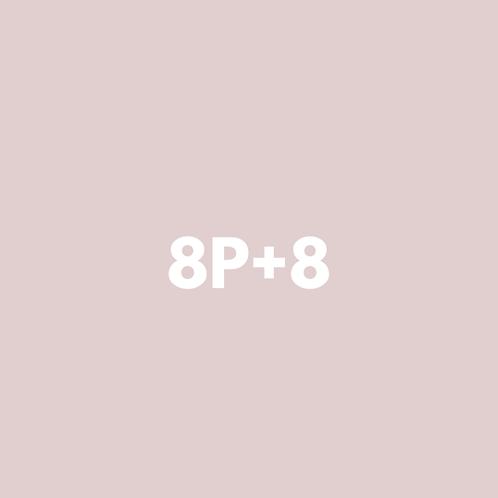 8 Privadas + 8 Grupales