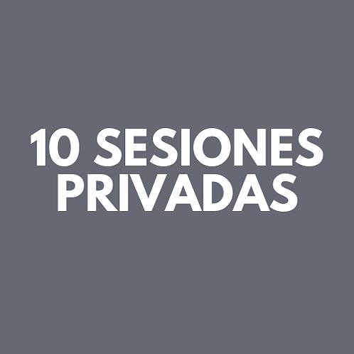 10 Sesiones Privadas