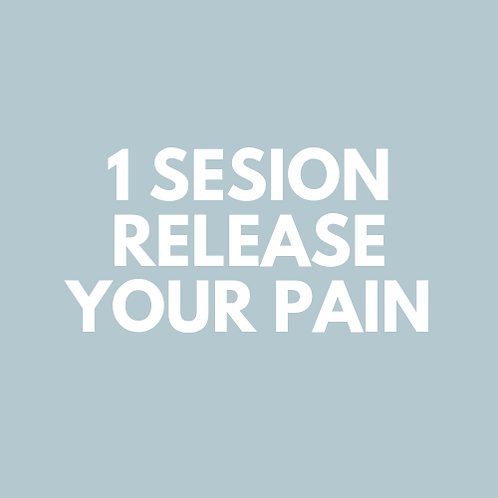 1 Sesion Release your Pain