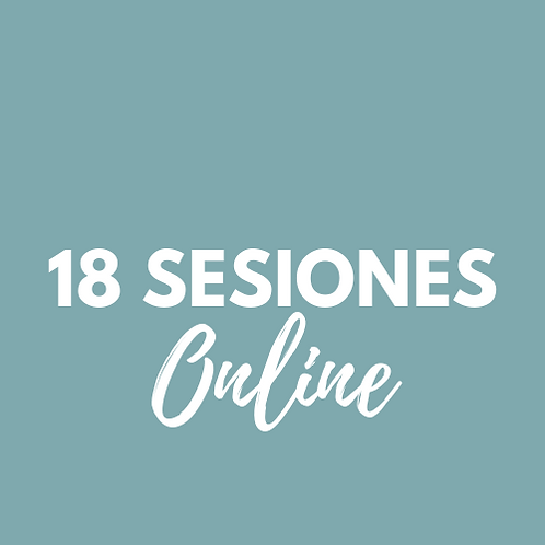 18 Sesiones Pilates Online