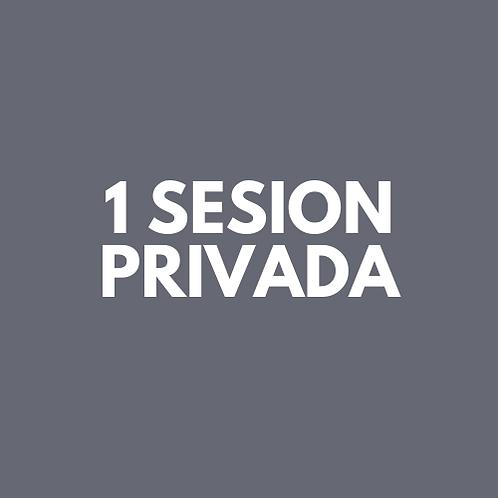 1 Sesion Privada