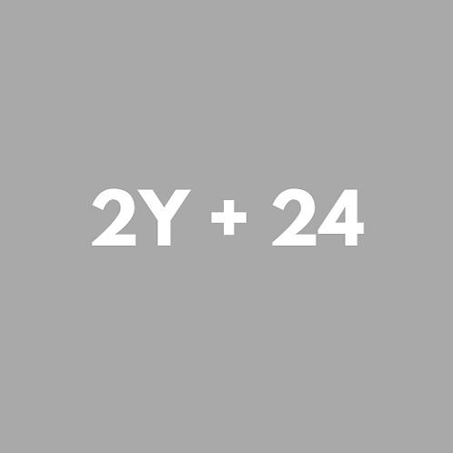 2 SESIONES YOGA + 24 GRUPALES