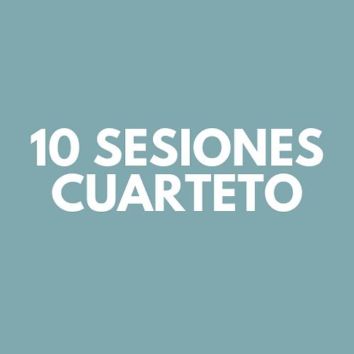 10 Sesiones Cuarteto
