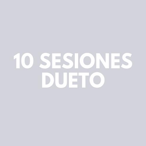 10 Sesiones Dueto