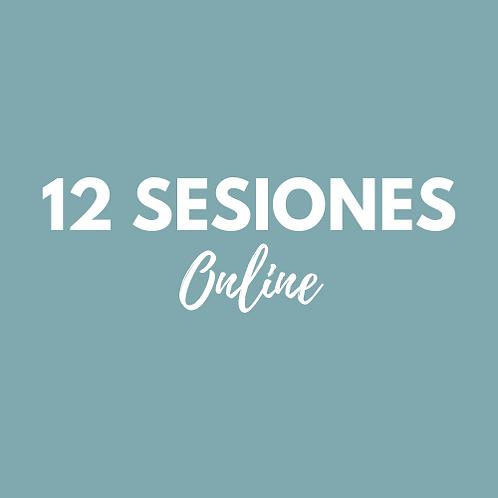 12 Sesiones Pilates Online