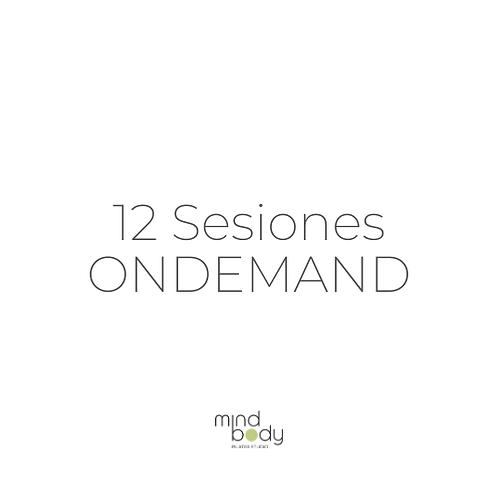 12 Sesiones ONDEMAND