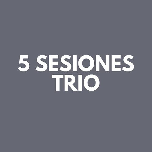 5 Sesiones Trio