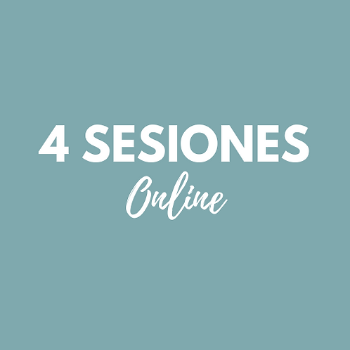 4 Sesiones Pilates Online