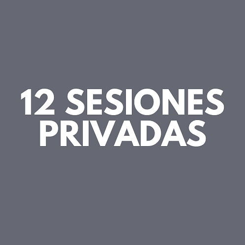 12 Sesiones Privadas