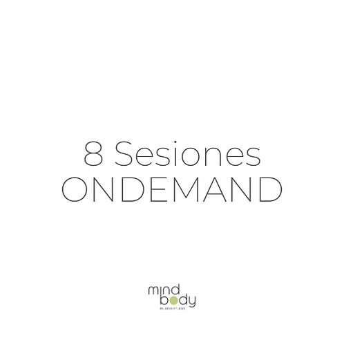 8 Sesiones ONDEMAND