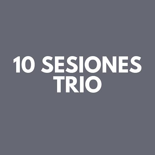 10 Sesiones Trio