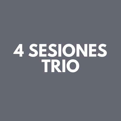 4 Sesiones Trio