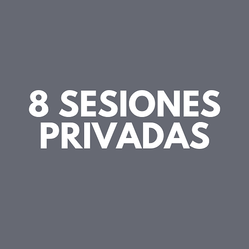 8 Sesiones Privadas