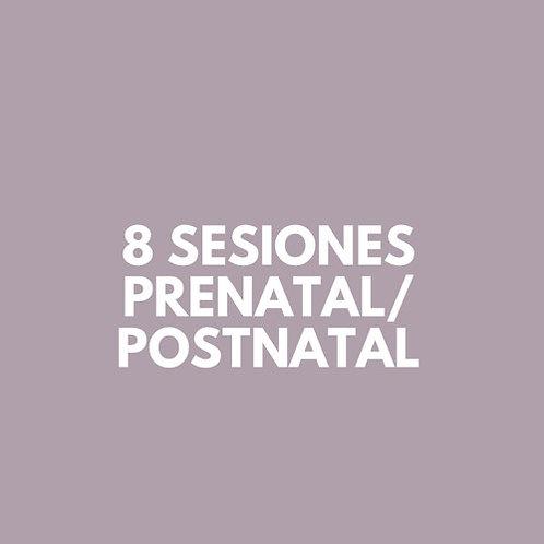 8 Sesiones Prenatal/Postnatal