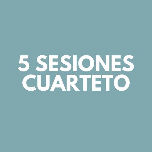 5 Sesiones Cuarteto