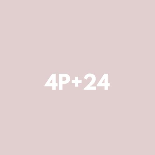 4 Privadas + 24 Grupales