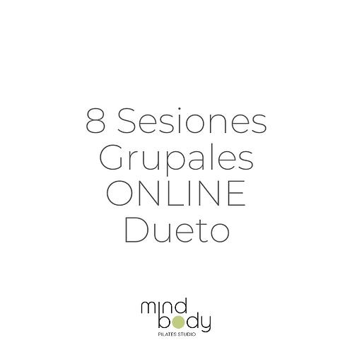 8 Sesiones Grupales ONLINE Dueto