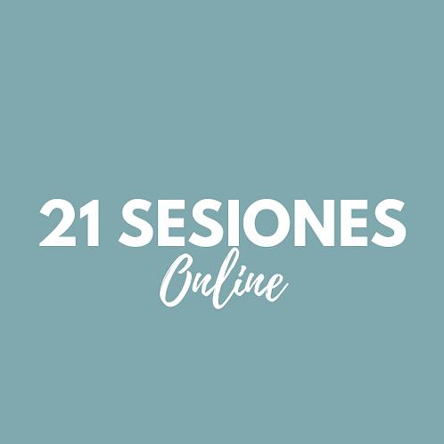 21 Sesiones Pilates Online