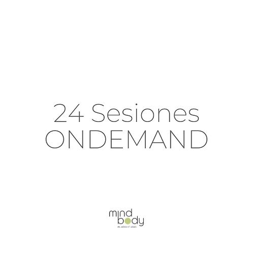 24 Sesiones ONDEMAND