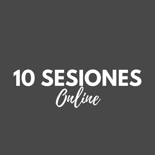 10 Sesiones Pilates Online