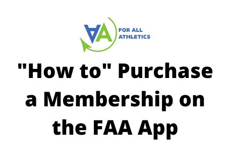 """How To"" Purchase a Membership on the FAA App"