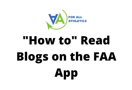 """How To"" Read Blogs on the FAA App"