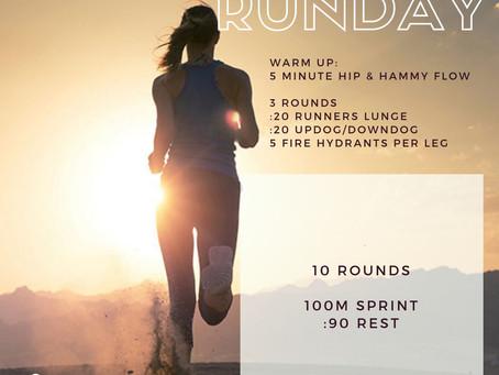 It's Sunday Runday!
