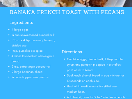 Foodie Friday: Banana French Toast