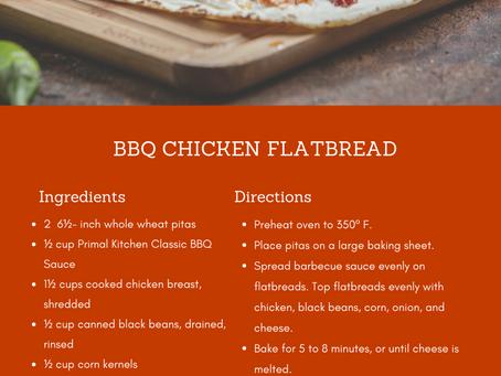 Foodie Friday: BBQ Chicken Flatbread