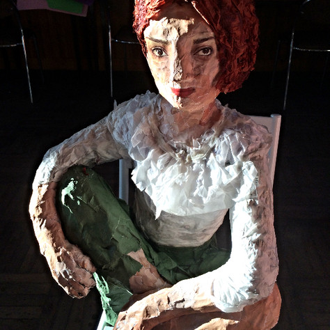 papier mache 2014 (private collection)
