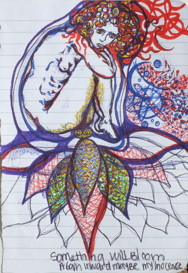 Flor de loto sosteniendome