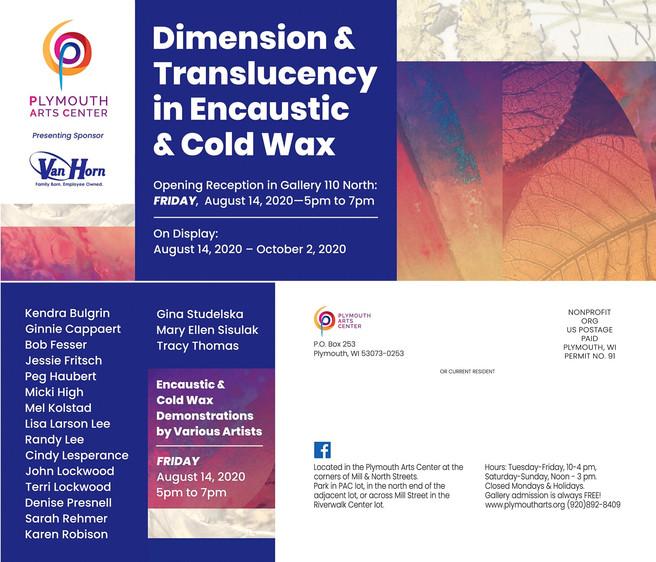 Dimension & Translucency in Encaustic & Cold Wax