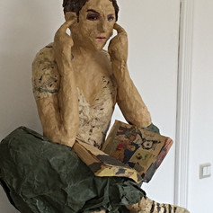 papier mache 2013 (private collection)