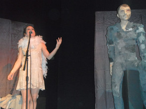 Scenography Company des Grisettes, French İnstitue Ankara-Montpellier, 2014