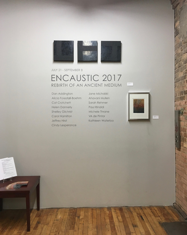 Bridgeport Art Center - Encaustic 2017