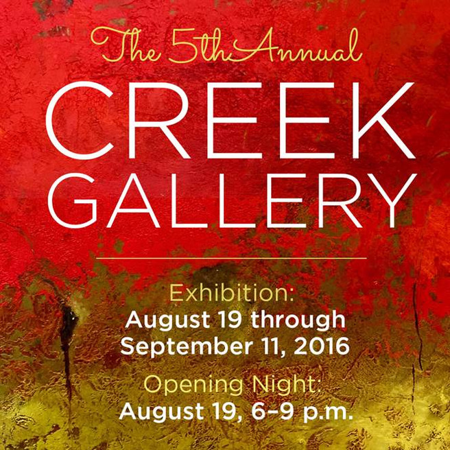 5th Annual Creek Gallery