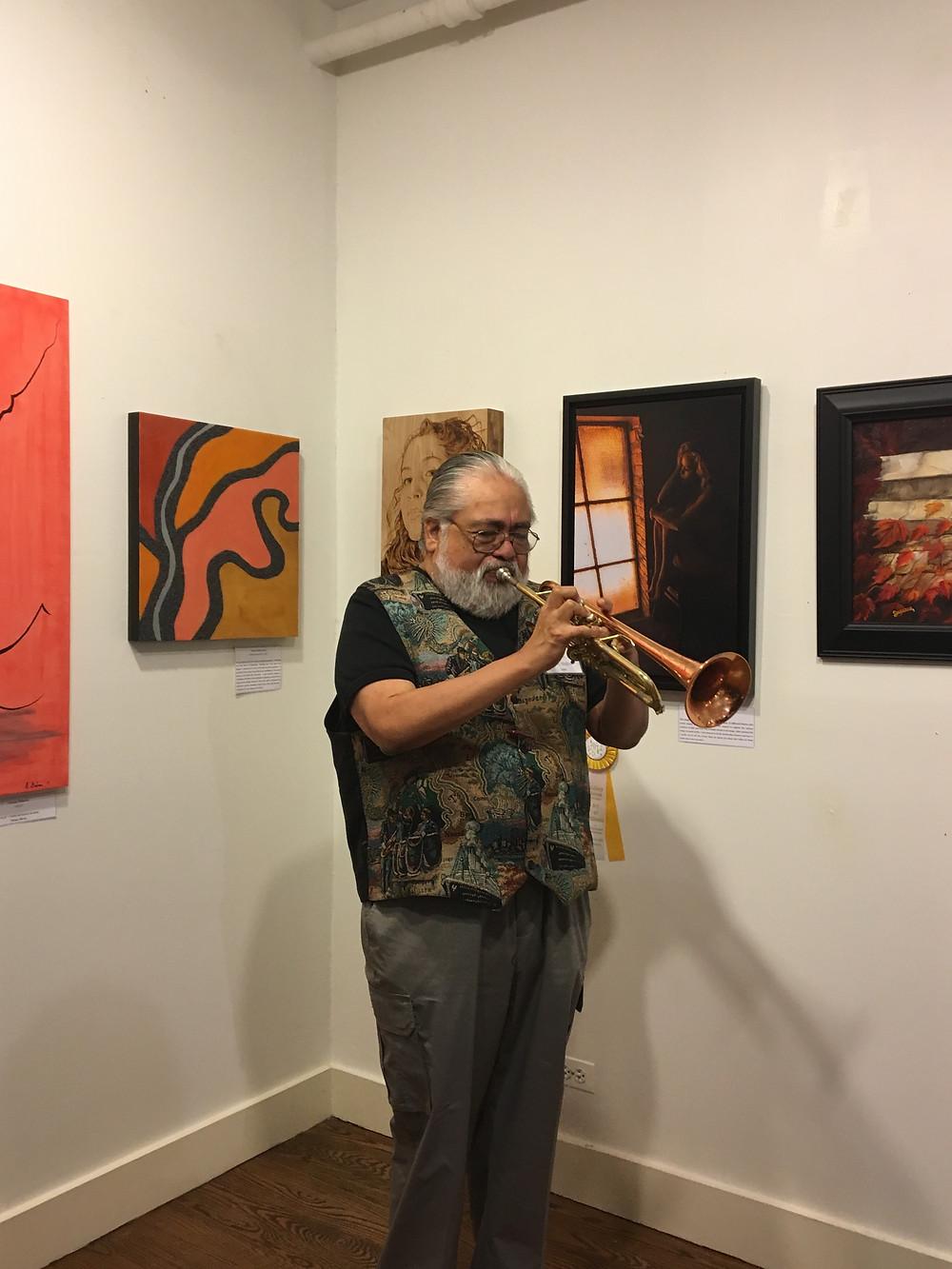 Great jazz musician
