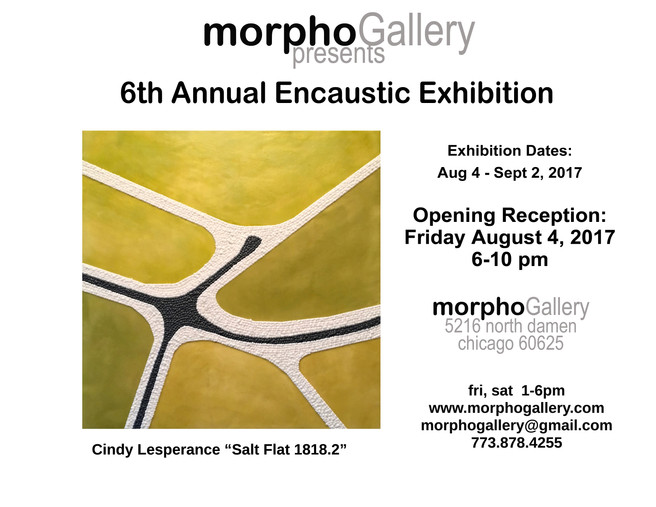 Morpho Gallery - 6th Annual Encaustic Exhibition