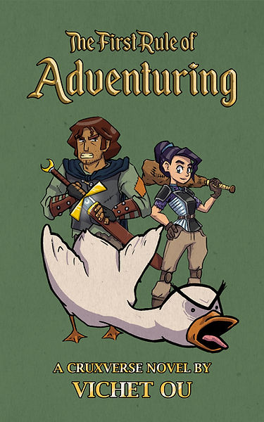 An Adventurer. An ex-princess. A goose.
