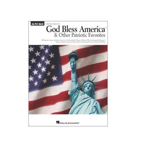 GOD BLESS AMERICA para SAXO ALTO