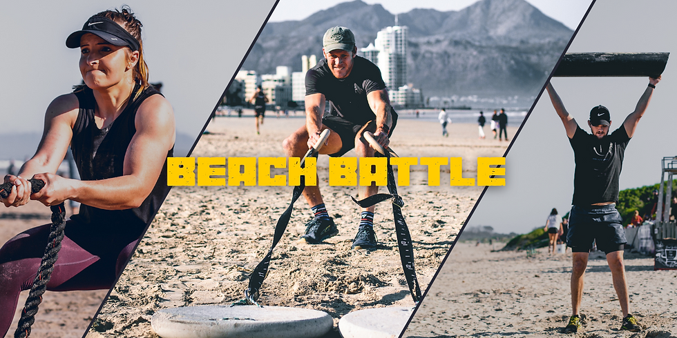 Beach Functional Fitness Competition