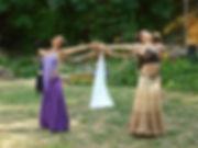 Priestess Graell,Goddess Temple of Ashland, Temple Dance, Ritua Theater