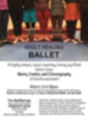 Adult Healing Ballet, Ballet, Sacred Dance