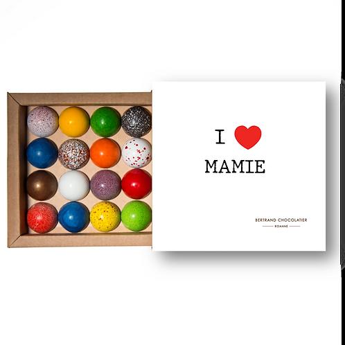 COFFRET I LOVE MAMIE- 16 DÔMES