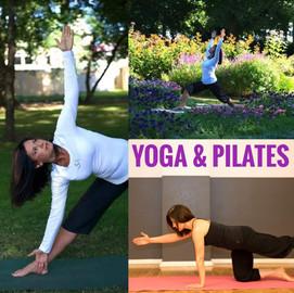 Inslag av Pilates och Yoga